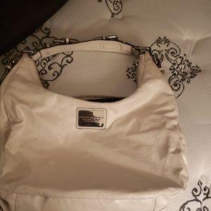 White Armani exchange purse